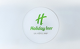 Sous verre rond 90mm HOLIDAY INN
